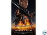 Terminator genisysI 3D 4 TICKETS