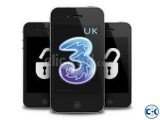 Unlock iPhone 3 Hutchison UK Carrier