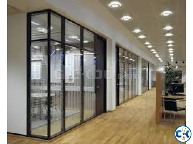 commitment Aluminium partition | ClickBD large image 1