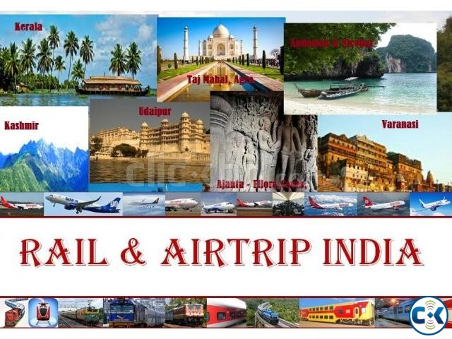 Indian Rail Air Ticket | ClickBD large image 0