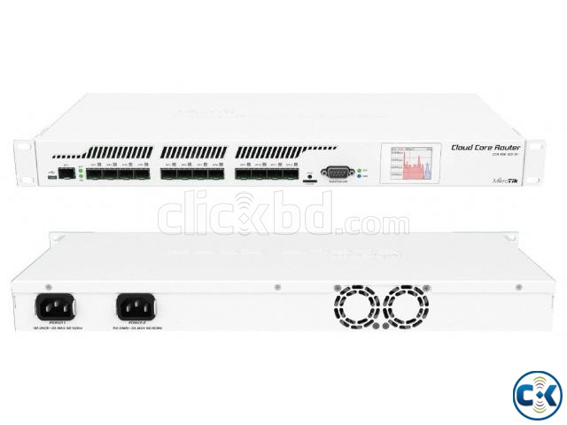 mikrotik ethernet router ccr1016-12s-1s  | ClickBD large image 1