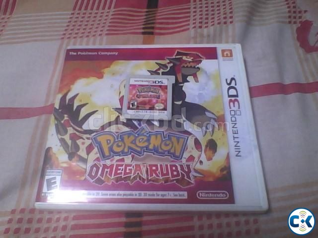 Pokemon Omega Ruby for 3DS Full Boxed  | ClickBD large image 0