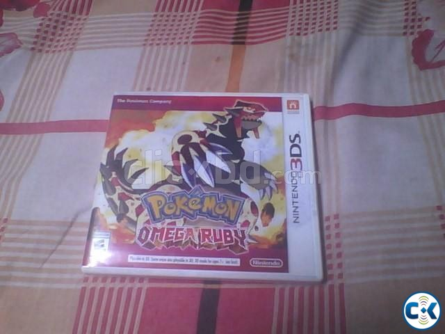 Pokemon Omega Ruby for 3DS Full Boxed  | ClickBD large image 1