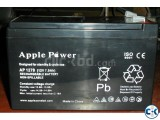 Rechargeable Battery Brand-Apple power 12V 12Ah
