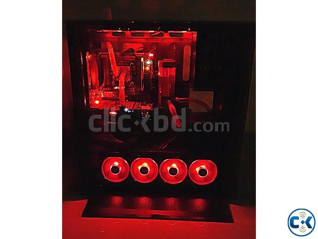 Gaming PC for Sell with Custom Water Cooling | ClickBD large image 1