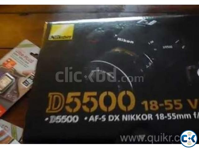 D5500 NIKON CAMERA 18MM-55MM LENSE | ClickBD large image 1