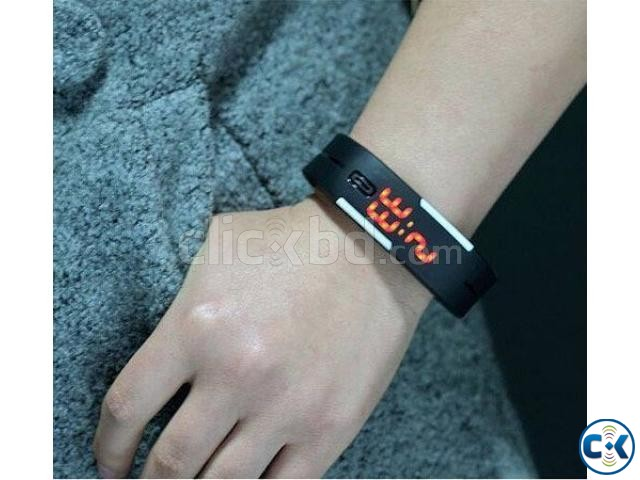 water resistant watch Black Color  | ClickBD large image 0