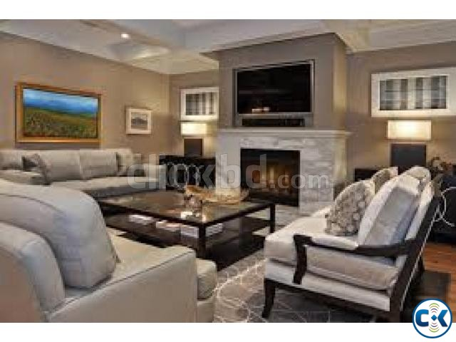 Cozy Living Room With Tv CAE ClickBD Large Image 0