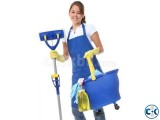 Cleaner Maid service from Dhaka