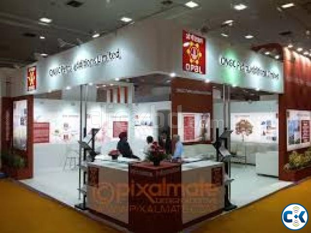 Exhibition Stall Price : Affordable exhibition stall design clickbd