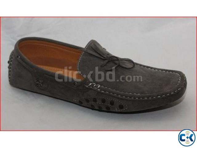 New Mens Faux Suede Casual Loafers Shoes Avail. UK Sizes 7-1 | ClickBD large image 1
