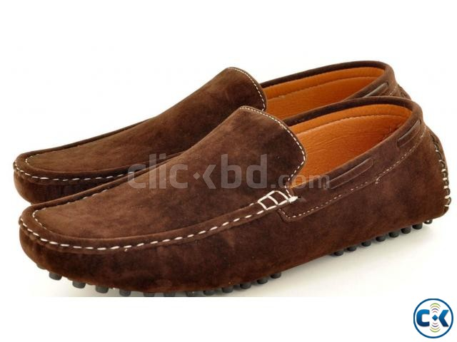 New Mens Faux Suede Casual Loafers Moccasins Slip On Shoes A | ClickBD large image 1