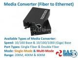 Media Converter Fiber to Ethernet