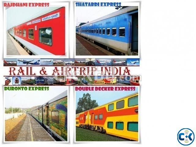 Indian Rail Ticket Air Ticket Hotel Booking Service | ClickBD large image 0