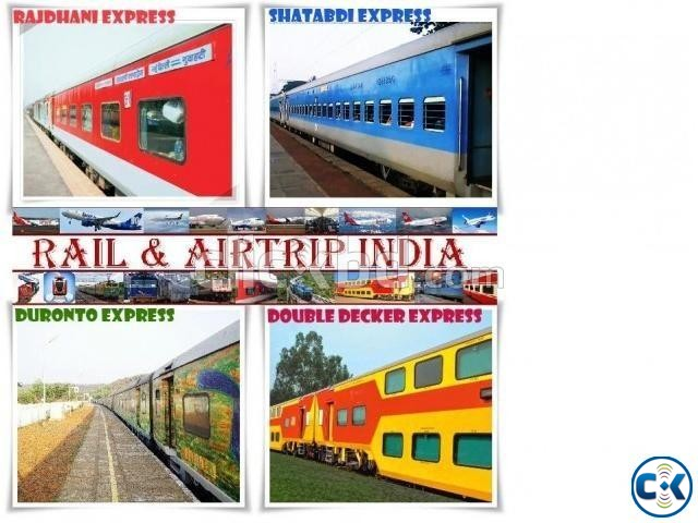 Indian Rail Ticket Air Ticket Hotel Booking Service | ClickBD large image 1