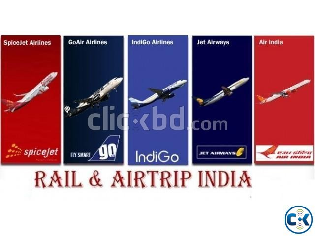Indian Rail Ticket Air Ticket Hotel Booking Service | ClickBD large image 2