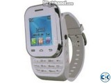 W1 MOBILE WATCH PHONE SMART FASHIONABLE DUAL SIM MOBILE