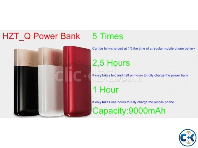 QPower Only 30 Minutes Fast Charge Power Bank Expert KPOW8 | ClickBD large image 1