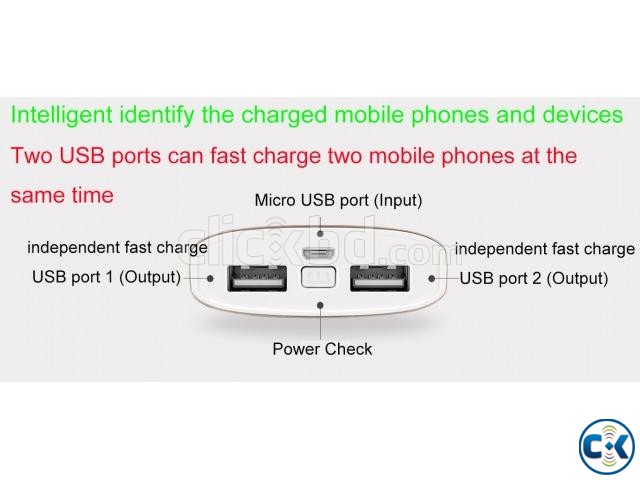 QPower Only 30 Minutes Fast Charge Power Bank Expert KPOW8 | ClickBD large image 3