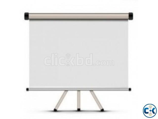 Projector Screen MEKI 70 X70 Tripod | ClickBD large image 0