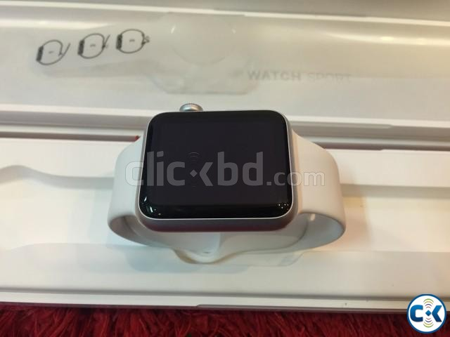 Apple watch sport 42mm silver NEW BOXED | ClickBD large image 3