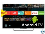 SONY W800C 55' 3D ANDROID TV