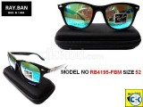 RAYBAN MODEL NO RB4195-FBM SIZE 52