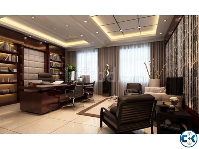 Modern office cabin interior design clickbd for Office cabin design