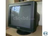 17 inch Samsung CRT Monitor Synqmaster