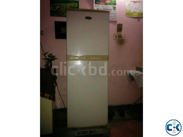 LG butterfly 10cft fridge for sale at lowest price   ClickBD large image 0