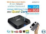 M8C Quad Core Android 4.4 TV Box Amlogic S802 2.0GHz 2G/8G M