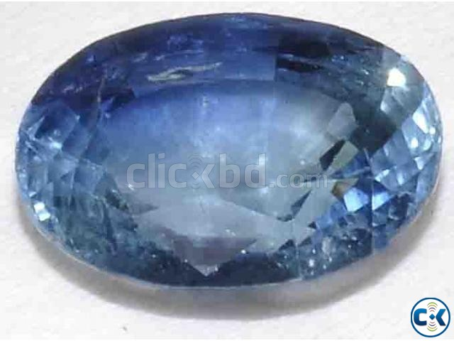 Rare Natural Blue Sapphire | ClickBD large image 0