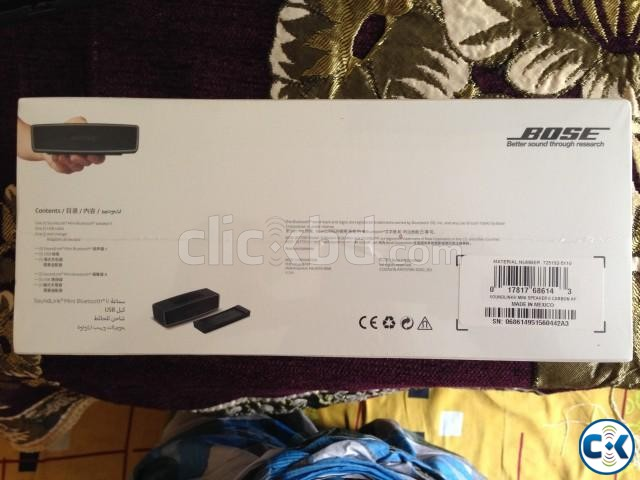 Brand new intact BOSE Soundlink Mini ll | ClickBD large image 0