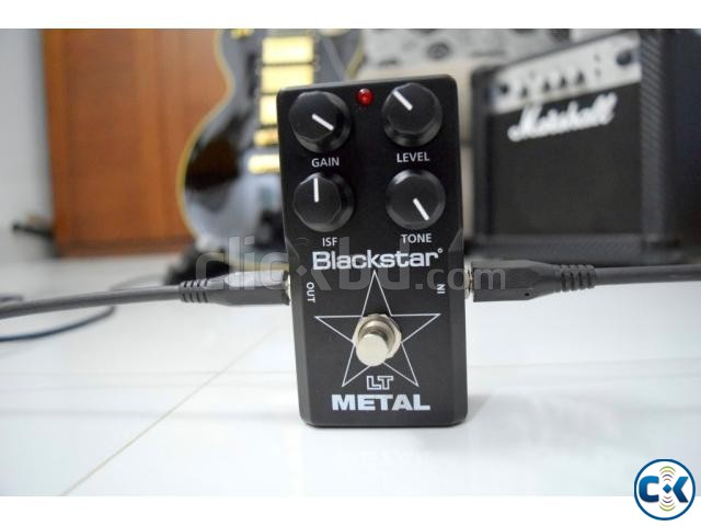 Blackstar LT Metal High Gain Distortion Pedal | ClickBD large image 0