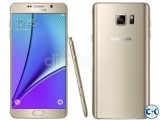 Samsung Galaxy Note 5 Dual Brand New Intact