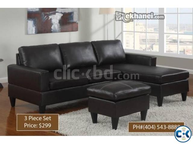 American Design Mini L Shape Sofa
