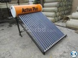 Save Money Save Power With Active plus solar water heater B