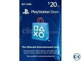 PlayStation Network 10.00 Card US