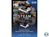 Steam Gift Card 50