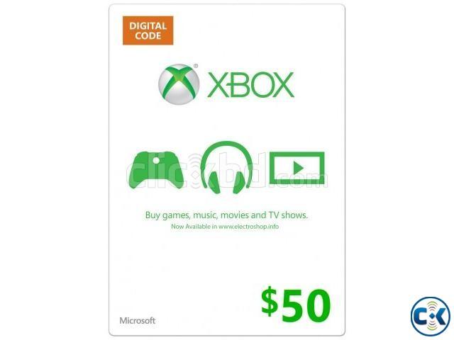 Xbox Live 50 Card | ClickBD