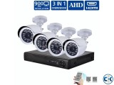 8 Channel AHD DVR With 8 Unit full AHD Security Camera
