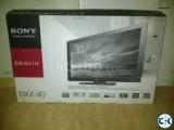 SONY BRAVIA 40 Full HD LCD TV Brand New Condition