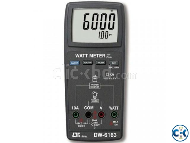 Digital Watt Meter : Digital watt meter lutron dw clickbd