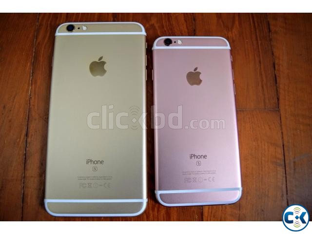 Brand New Iphone 6S Plus 128GB With 1 Year Warranty | ClickBD large image 0