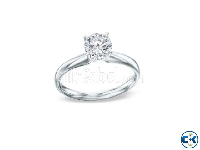 14KW Gold 1 2 Carat Diamond Ring - JCPenney | ClickBD large image 0