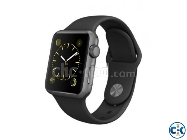 Apple Watch Sport 38MM Brand New 316L Space Gray | ClickBD large image 0