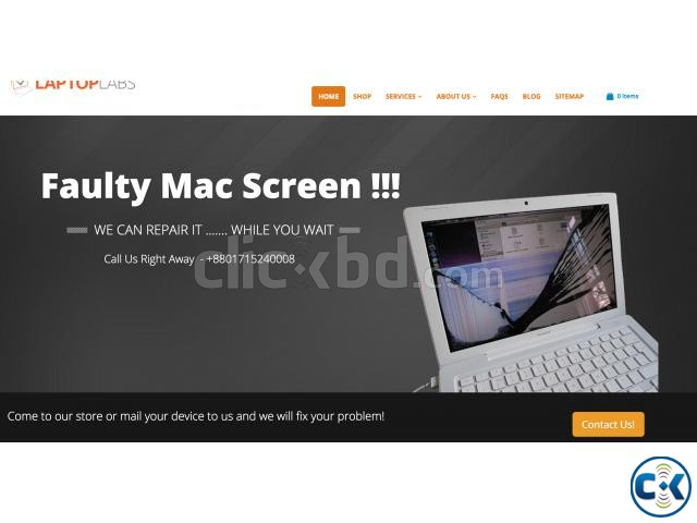 Getting your MacBook Pro water damage repaired is fast eas | ClickBD large image 1