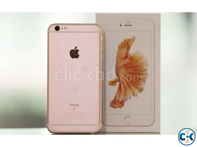 Brand New iphone 6s Plus 128GB Rose Gold With 1 Yr Warranty | ClickBD large image 1