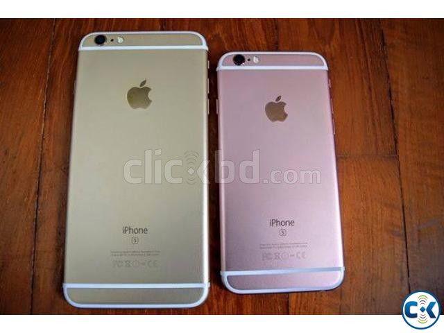 Brand New iphone 6s Plus 128GB intact Box with Warranty | ClickBD large image 1