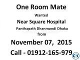 01 ONE Room Mate Required Panthapath Dhanmondi Dhaka